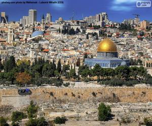 Puzle Jeruzalém, Izrael