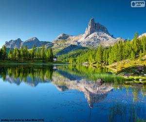 Puzle Jezera Federa, Itálie