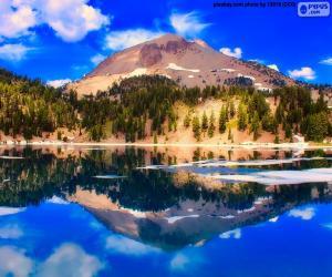 Puzle Jezero Helen, Spojené státy