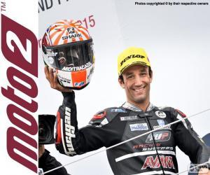 Puzle Johann Zarco, Moto2 2015