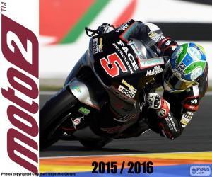 Puzle Johann Zarco, Moto2 2016