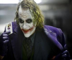Puzle Joker je Batman je největší nepřítel a jeden z nejpopulárnějších darebáci