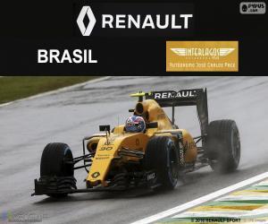 Puzle Jolyon Palmer Grand Prix Brazílie 2016