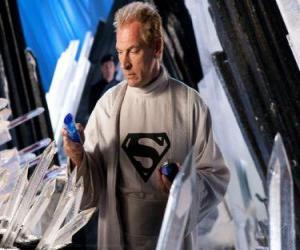 Puzle Jor-El se Kryptonian vědců a vůdců a Superman biologický otec.