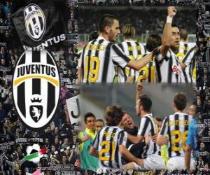 Puzle Joventus, vítěz italské fotbalové ligy - Lega Calcio 2011-12