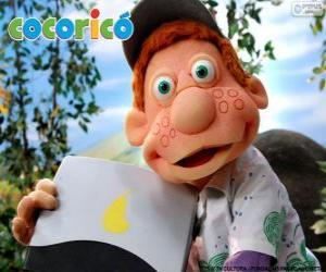 Puzle Julio, chlapce na statku Cocorico