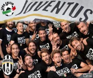 Puzle Juventus mistr 2013-20014