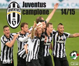 Puzle Juventus mistr 2014-20015