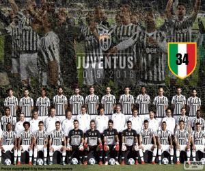 Puzle Juventus mistr 2015-20016