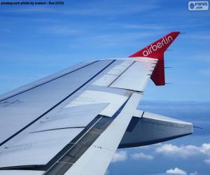 Puzle Křídla letadla