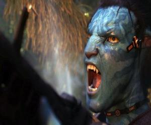 Puzle Křičí Jake na'vi avatar