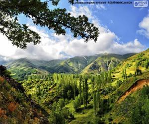 Puzle Kaakské hory, Turecku