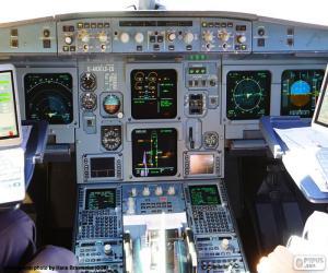 Puzle Kabiny letadla