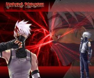 Puzle Kakashi Hatake, mistr ninjas