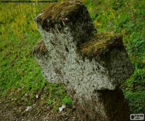 Puzle Kamenný kříž