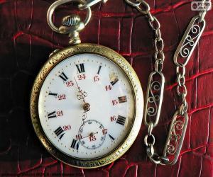 Puzle Kapesní hodinky