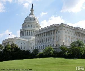 Puzle Kapitol Spojených států amerických, Washingtonu D.C.