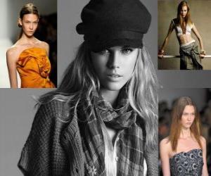 Puzle Karlie Kloss je americký model a tanečník