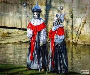 Puzle Karneval Benátky