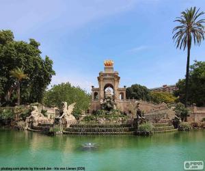 Puzle Kaskáda Parc de la Ciutadella, Barcelona