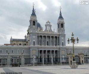 Puzle Katedrála Almudenské, Madrid
