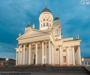 Puzle Katedrála Helsinky, Finsko