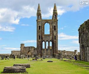 Puzle Katedrála St. Andrews, Skotsko