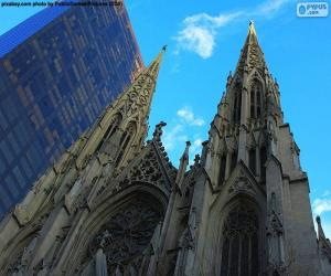 Puzle Katedrála svatého Patrika, New York