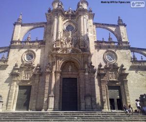 Puzle Katedrála v Jerez de la Frontera, Španělsko
