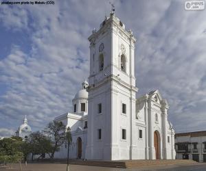 Puzle Katedrální bazilika Santa Marta, Kolumbie