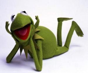 Puzle Kermite žába