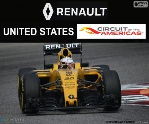 Puzle Kevin Magnussen, Grand Prix USA 2016