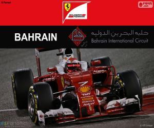 Puzle Kimi Räikkönen Grand Prix Bahrajnu