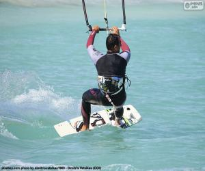 Puzle Kitesurfing