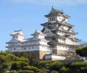 Puzle Kjótský císařský palác, Japonsko
