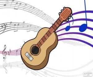 Puzle Klasická kytara