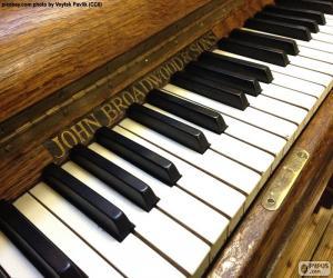 Puzle Klasické klávesy