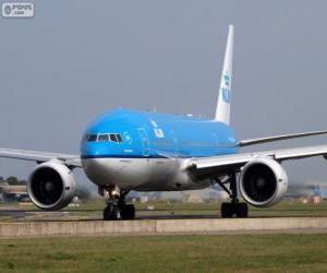 Puzle KLM Royal Dutch Airlines, Nizozemsko