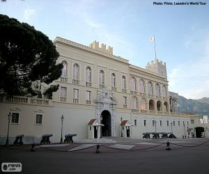 Puzle Knížecí palác Monako