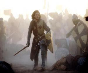 Puzle Knight bojů bitvy
