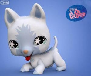 Puzle Kočka z nejmenší PetShop