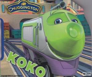 Puzle Koko, elektrická lokomotiva z Chuggington