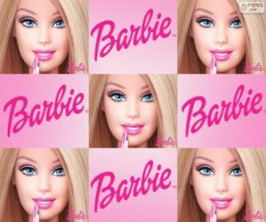Puzle Koláž Barbie