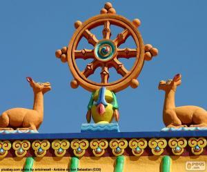 Puzle Kolo dharmy