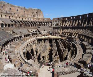 Puzle Koloseum v Římě