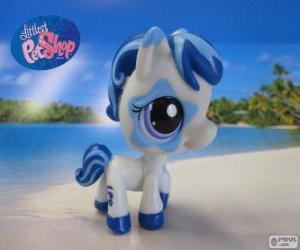 Puzle Koně z nejmenší PetShop