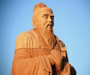 Puzle Konfucius, čínský filozof, zakladatel konfucianismu