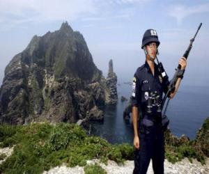 Puzle Korean policie