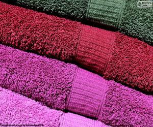 Puzle Koupelnový ručník