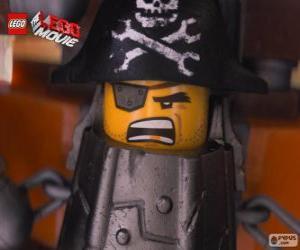 Puzle Kovovous, pirát který chce pomstít na Lord Business